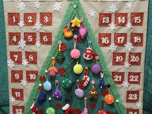 Новогодний адвент-календарь своими руками. Ярмарка Мастеров - ручная работа, handmade.