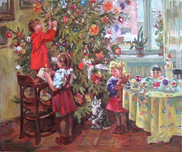 советское рождество, токмакова