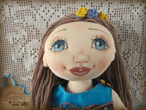 Игровая куколка Ариша. Ярмарка Мастеров - ручная работа, handmade.