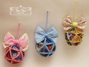 Новогодние шары «Из детства». Ярмарка Мастеров - ручная работа, handmade.