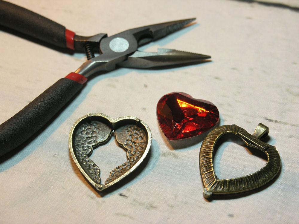 кулон, сердце любовь подарок