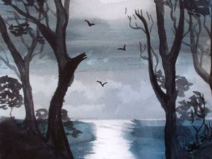 Мастер-классы по акварельной живописи | Ярмарка Мастеров - ручная работа, handmade