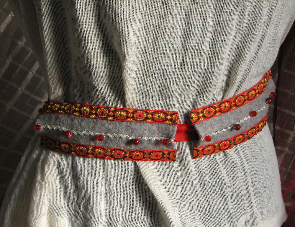 пояс, славянский стиль