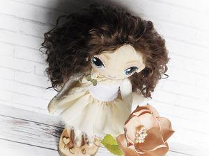 Марта, интерьерная кукла ручной работы, тедди долл. Ярмарка Мастеров - ручная работа, handmade.