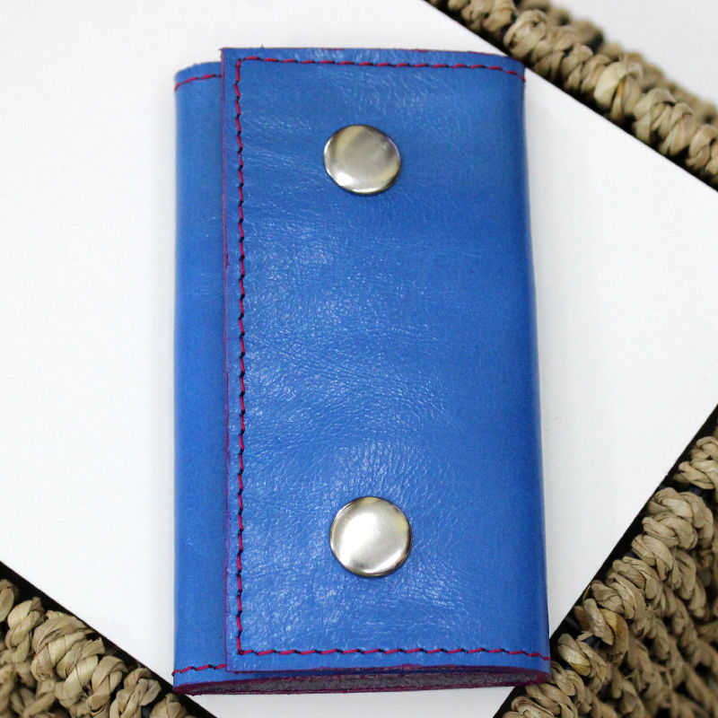 Tutorial on Making a Leather Key Bag, фото № 27