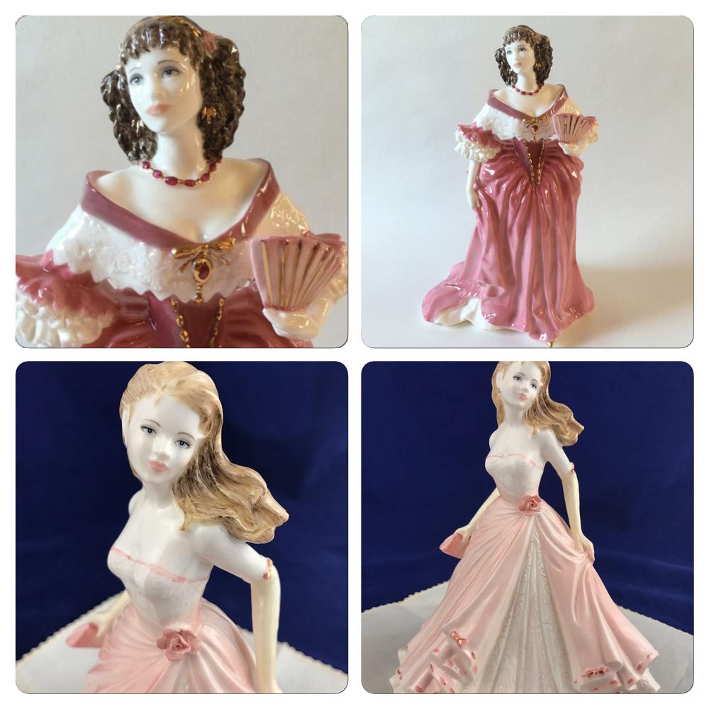 статуэтки, английский стиль, фарфоровые куклы, коллекция, capodimonte, для дома, для украшения