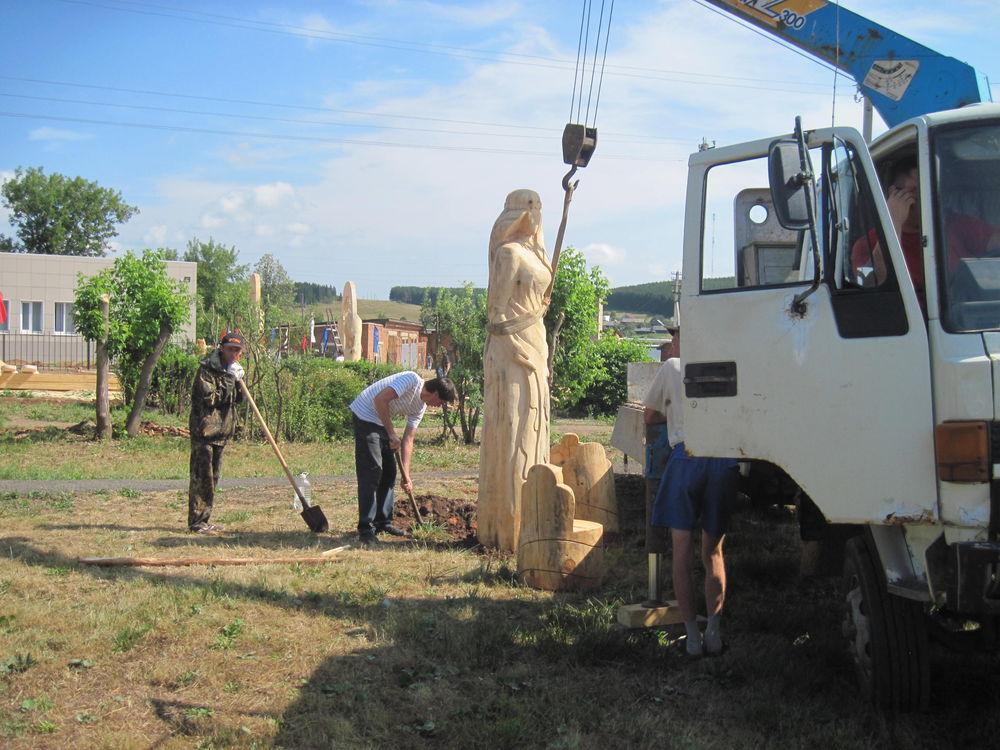 Об участии в международном фестивале деревянной скульптуры., фото № 28