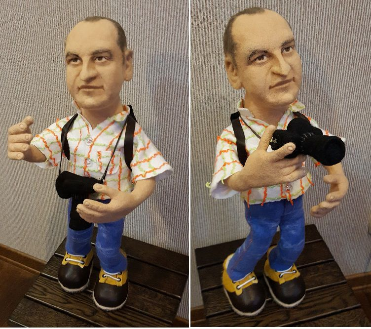 Портретные куклы своими руками мастер класс