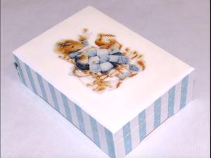 Видео мастер-класс по декупажу: процесс преображения шкатулки «Маленькая мышка». Часть 2. Ярмарка Мастеров - ручная работа, handmade.