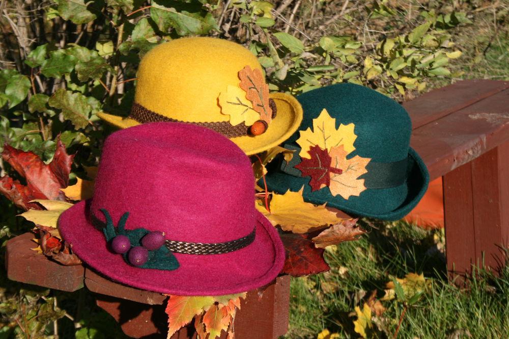 теплая шляпа