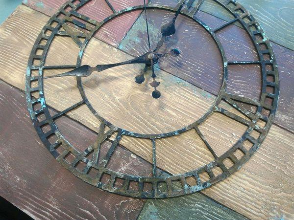 НОВИНКА! Интерьерные часы в Рустикальном стиле.   Ярмарка Мастеров - ручная работа, handmade