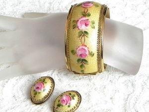 Видео. Комплект Английские розы,Whiting &amp&#x3B; Davis,США. Ярмарка Мастеров - ручная работа, handmade.