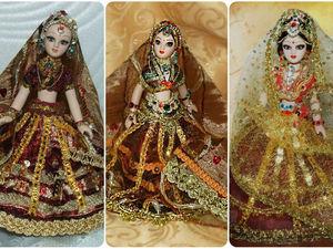 Индианка — моя кукла, особенности индийского костюма. Ярмарка Мастеров - ручная работа, handmade.