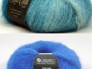 Супер цена на Пряжу мохер DROPS Kid-Silk uni color. Ярмарка Мастеров - ручная работа, handmade.