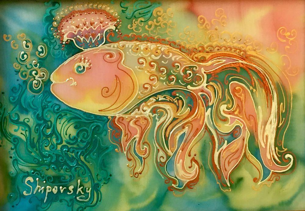 Волшебная рыбка картинки