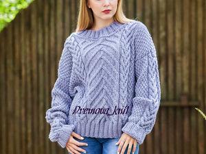 Распродажа! Готовый свитер за 3 т руб!. Ярмарка Мастеров - ручная работа, handmade.