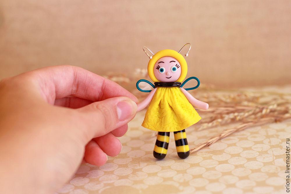 пчела, лепка, украшения