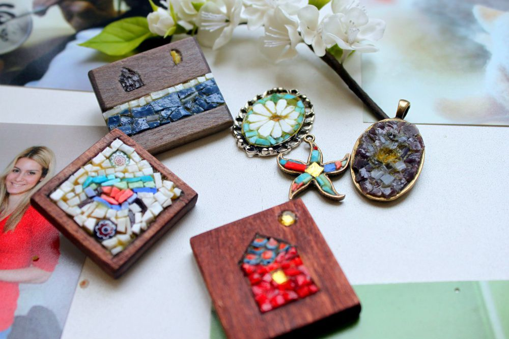 подарок, браслет, арт-студия, мастер-класс по мозаике