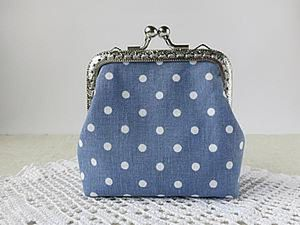 Sewing a Charming Mini Purse with a Clasp. Livemaster - handmade