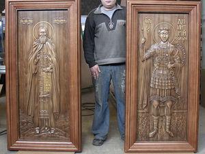 История резной иконы. Ярмарка Мастеров - ручная работа, handmade.