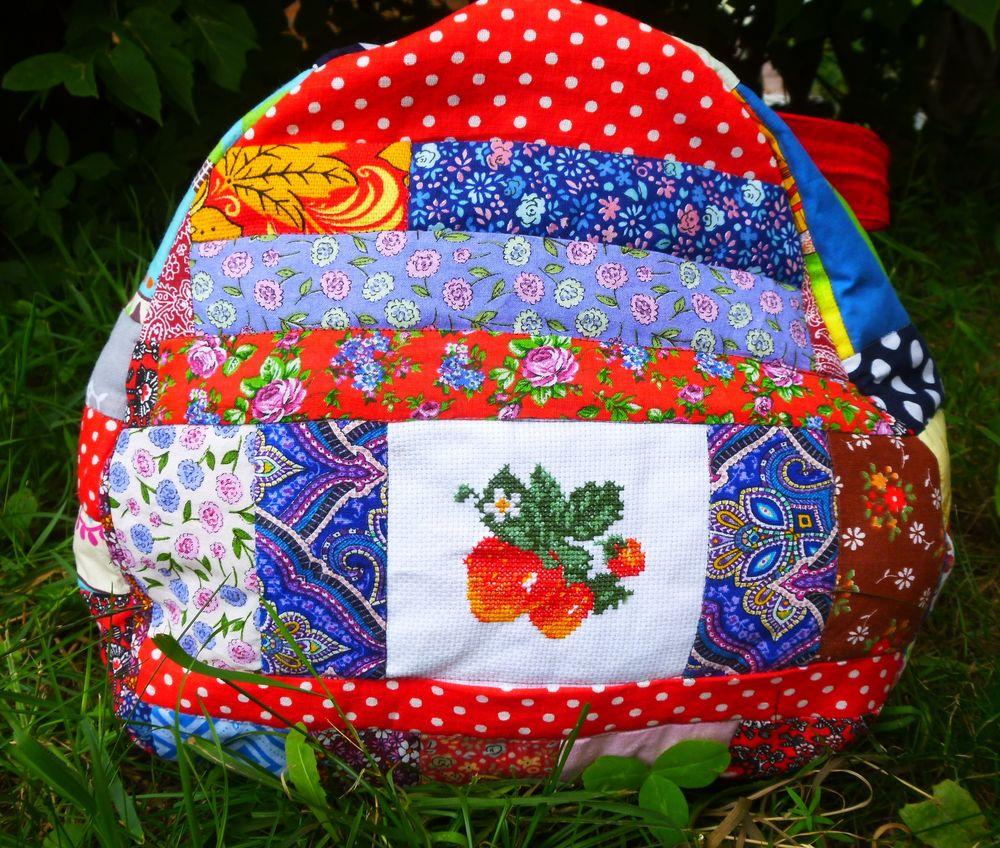 сумка для поездок, красочный
