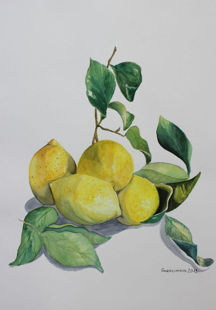 натюрморт с фруктами, гранат