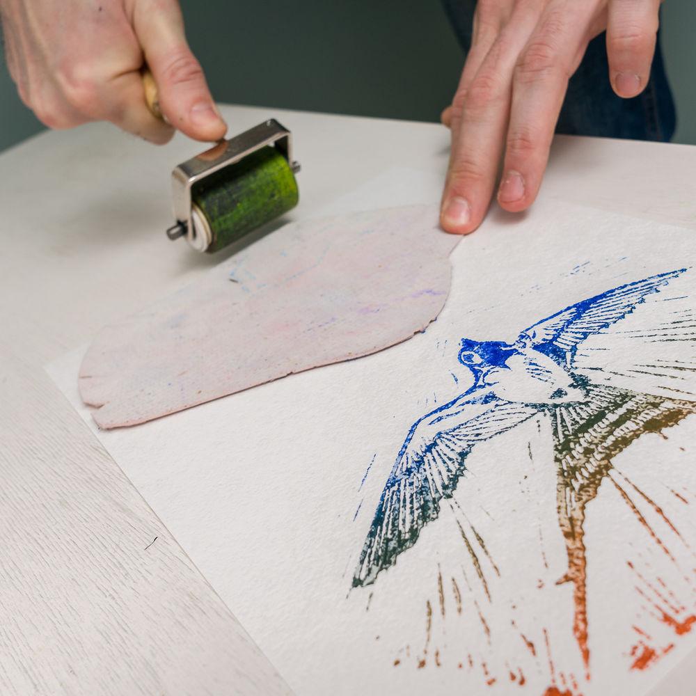 рисунок, печать на ткани