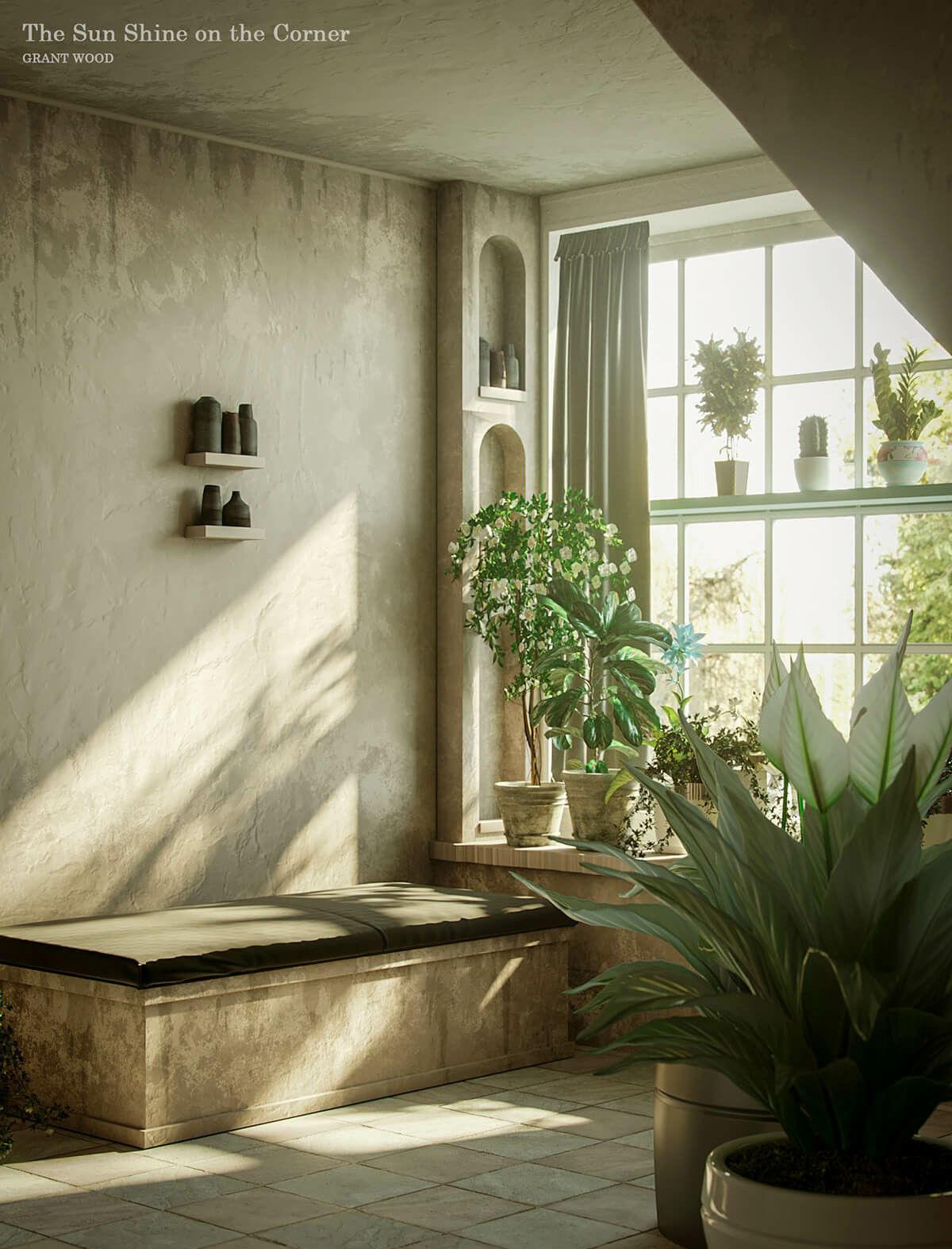 Живи как художник: дизайнеры воссоздали интерьеры с известных полотен
