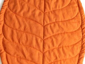 Все, что вы хотели знать о коврике-листике. Ярмарка Мастеров - ручная работа, handmade.