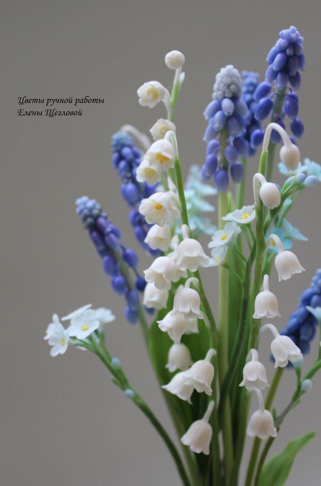 реалистичные цветы, лепка реалистичных цветов