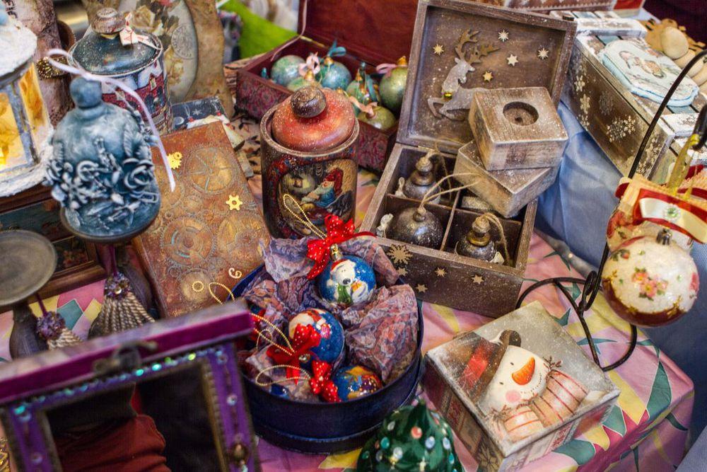 ярмарка подарков, керамика, новогодние сувениры, новогодний декор
