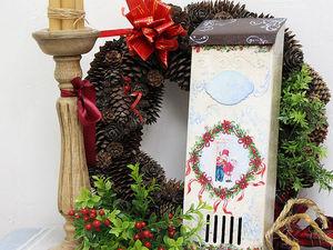 В ожидании чуда: создаем ящик «Новогодняя почта». Ярмарка Мастеров - ручная работа, handmade.