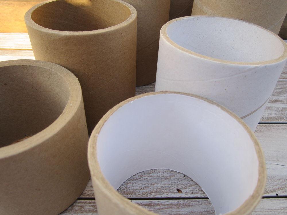 сосновые, картонаж, цилиндр, материалы для творчества