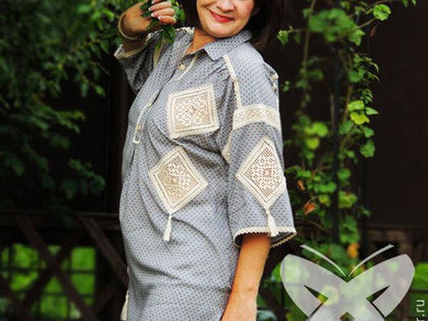 Рубахи-блузы авторские