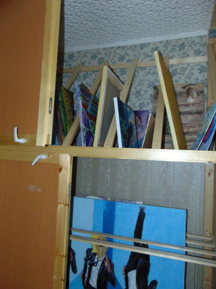 кладовка, сушилка для картин, кладовка для картин, делаем кладовку сами, как сушить картины