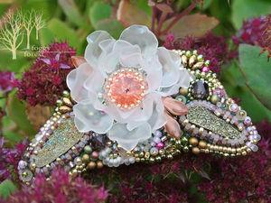 Коллекция цветочных брошей. Ярмарка Мастеров - ручная работа, handmade.
