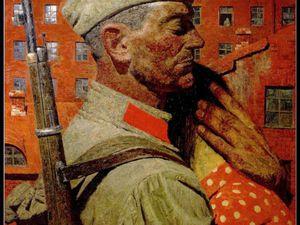 Воины художника Гелия Коржева. Ярмарка Мастеров - ручная работа, handmade.
