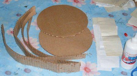 Как сделать из картона торт для конфет