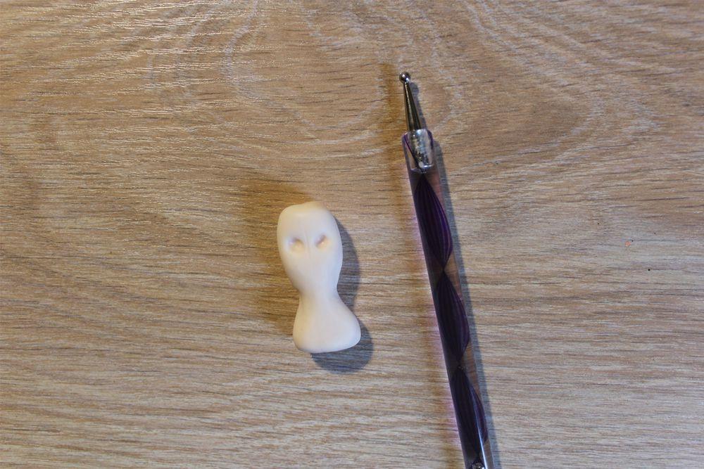 миниатюра, лицо человека