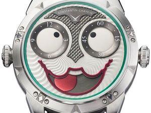 Часы с «лицом», у которого 20000 разных «выражений».. Ярмарка Мастеров - ручная работа, handmade.
