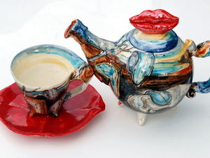 Сюрреалистическое чаепитие. | Ярмарка Мастеров - ручная работа, handmade
