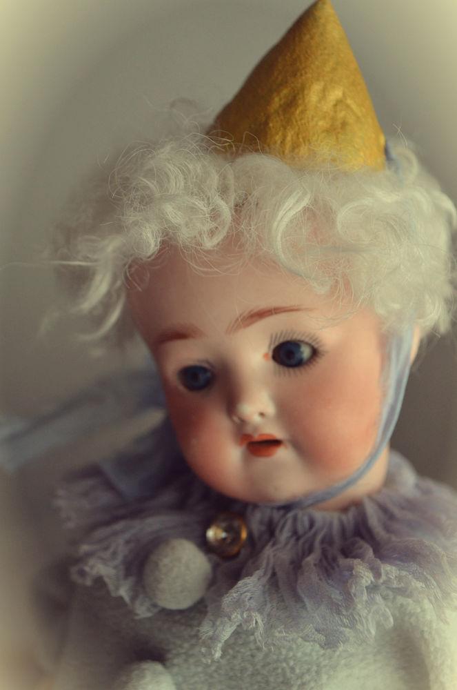 антикварная кукла, антикварный, старинные вещи