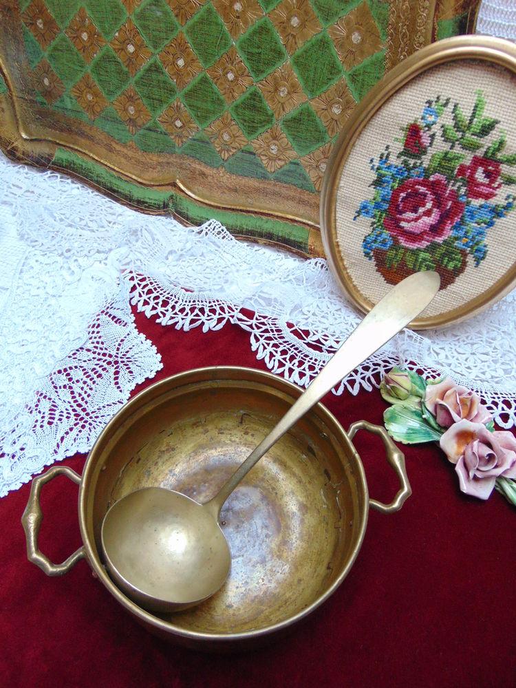 латунь, убранство кухни
