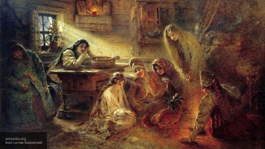 святочные гаданья