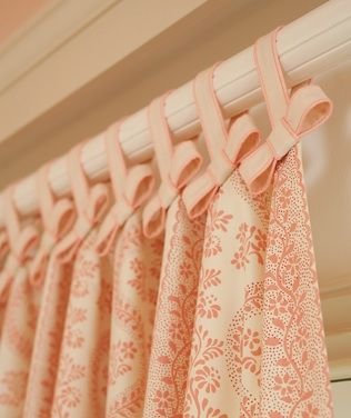 Pretty detail for a girl's room.