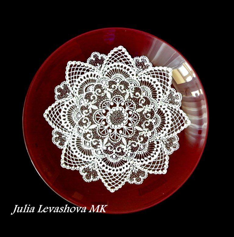 роспись точками, юлия левашова