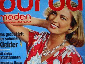 Burda moden 4/1978 Бурда Моден. Ярмарка Мастеров - ручная работа, handmade.