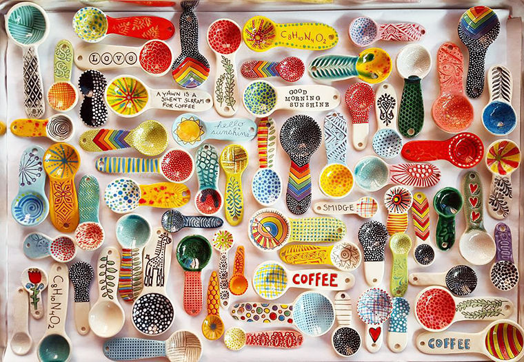 A Love Affair with Clay: Bright Pottery by Charity Hofert, фото № 11