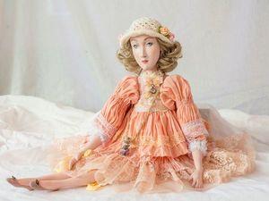 Аукцион!!!!!!!кукла София !!!!!! | Ярмарка Мастеров - ручная работа, handmade