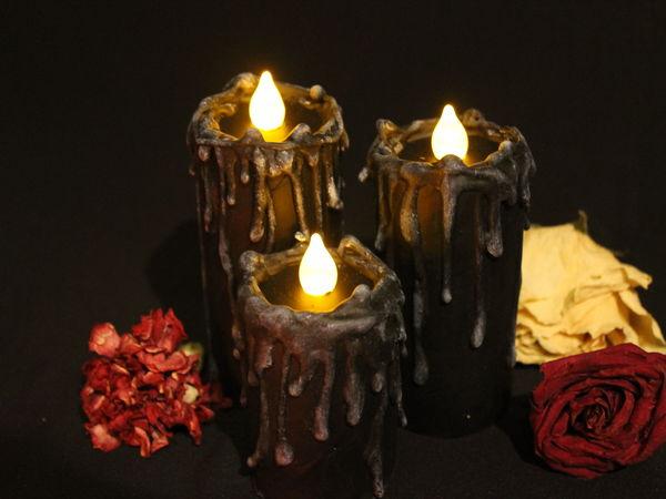 Создаём «вечные» свечи для декора | Ярмарка Мастеров - ручная работа, handmade